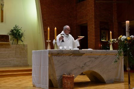 Mass at St Bede's